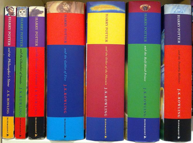 """Harry Potter English Australian Series"" by B.Davis2003 - Own work. Licensed under CC BY-SA 4.0 via Wikimedia Commons - https://commons.wikimedia.org/wiki/File:Harry_Potter_English_Australian_Series.jpg#/media/File:Harry_Potter_English_Australian_Series.jpg"