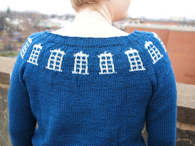Timey Wimey Knits - The Doctor's Wife