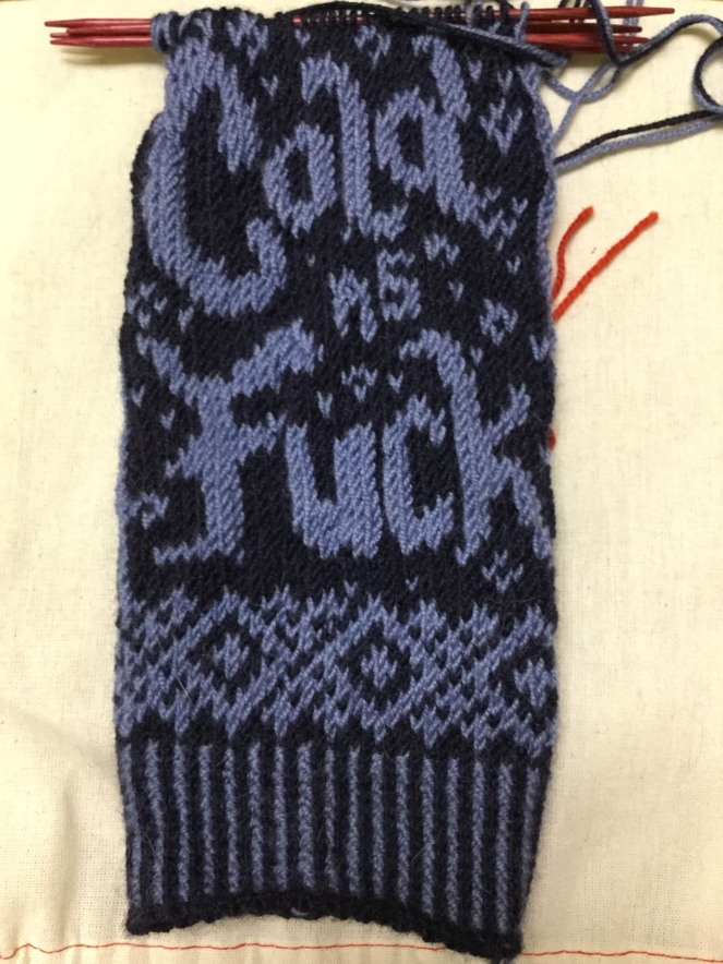 How cold is it? mittens - Knitter Nerd