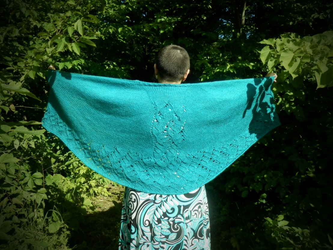 A Long-Finished Project: The Jane Eyre Shawl