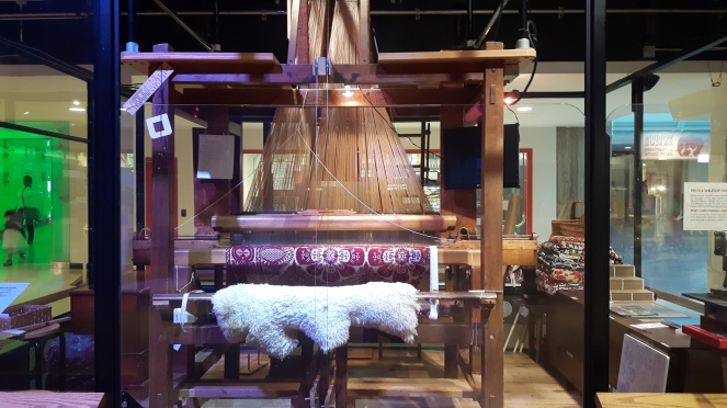 Jacquard Loom at Toronto Science Centre.